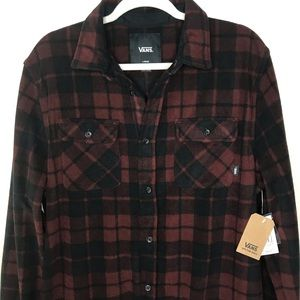 ✨NEW✨VANS Polar Fleece Shirt.  Size L.